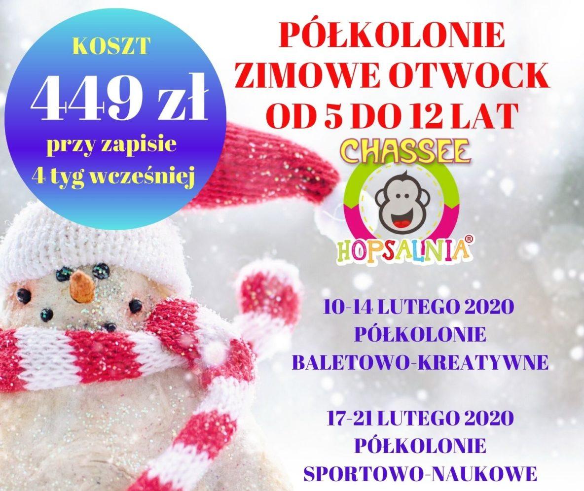 Półkolonie zimowe 2020 - insta-fb